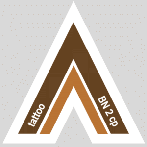Fetish Vector Arrow for tattoo | BROWN 2 copper