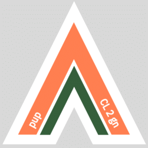 Fetish Vector Arrow for pup    CORAL 2 green