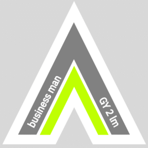 Fetish Vector Arrow for business man | GRAY 2 lime